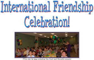 International Friendship Celebration 2014
