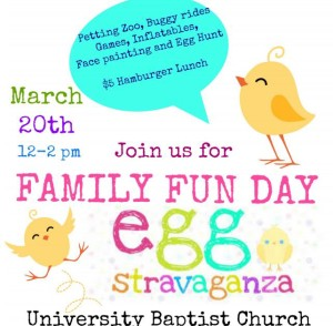 Family Fun Day March 20